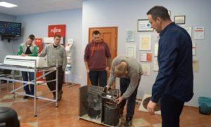 Nowech Chłodnictwo iKlimatyzacja: Szkolenie dla uczniów Technikum Elektrycznego, Lubań.