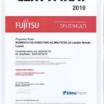 Nowech - Certyfikat Fujitsu