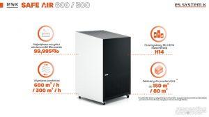 Filtry powietrza do biura